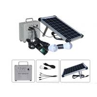 Portable solar system DC 10W Solar lighting kit with Phone charger