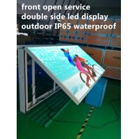 Buy cheap Front Open Digital Led Billboard , Outdoor Programmable Led Signs product