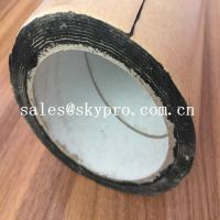 Buy cheap Strong Adhesive Kraft Paper Butyl Rubber Sheeting Roll Sound Absorbing Damping product