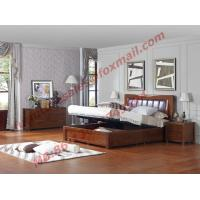 Buy cheap Luxcury Upholstery Headboard with Storage Bedstead Box in Solid Wood Furniture product