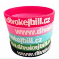 Buy cheap Personalized Silicone rubber bracelets from wholesalers