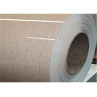 Buy cheap Colour Coated Coil PPGI Steel Coil in Wooden Pateenr Astma653 AISI from wholesalers