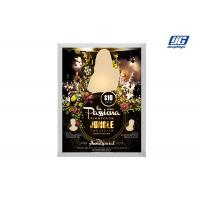 Buy cheap LED Light Source Snap Poster Board 22mm Thickness Silver Aluminum Frame from wholesalers