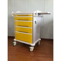 Buy cheap Mobile Emergency Medical Hospital Trolley Cart Drug Delivery Medication For 5 Drawer from wholesalers