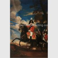 Buy cheap Framed People Oil Painting Handmade Napoleonic War Paintings 60 X 90 Cm from wholesalers