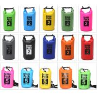 Buy cheap Best Waterproof Sports Bag , 10l Dry Bag With PVC Material For Clothes from wholesalers