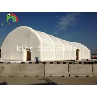 Buy cheap White Giant Inflatable Lawn Tent With Door For Outdoor Events Amusement Park Used from wholesalers