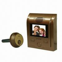 Buy cheap New Peephole Viewer with 2 Inches LCD Screen, Photo-snapping and Doorbell Functions product