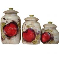 Buy cheap Fruit Canister Set (W815CF14LMS) from wholesalers