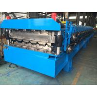 Buy cheap Roofing Profile Double Layer Roll Forming Machine Automatically 380V 50Hz 3 Phases from wholesalers