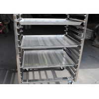 Buy cheap Ss201 15 Layer Bread Trolley For Fast Food Kitchen Equipment from wholesalers
