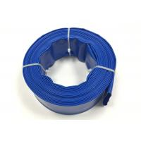 Flexible PVC Water Discharge Hose , Sprinkler Irrigation Pipe UV Resistant