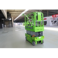China Small 6m self propelled work platform lift with 230kg capacity on sale