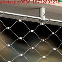 Buy cheap Hand Woven Wire Rope Aviary Mesh/stainless steel rope mesh for animal/Stainless Steel Wire Cable Mesh/Rope Mesh for garg from wholesalers