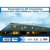 Buy cheap Steel Pipe Structures Steel Metal Buildings Wind Resistance Sale To Romania from wholesalers