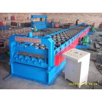 Buy cheap 720 Floor Deck Roll Forming Machine 15 KW Power and 400H Main Frame from wholesalers