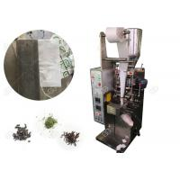 Buy cheap Durable Food Packing Machine Fit Single Layer Herbal Tea Bag With String from wholesalers