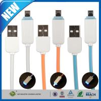 Buy cheap LED Light Micro Cell Phone USB Cable Data Sync Charging Cord for Samsung S6 from wholesalers