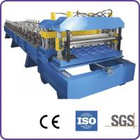 Buy cheap Hydraulic Automatic Cutting 45# Forge Steel Roof Tile Roll Forming Machine from wholesalers