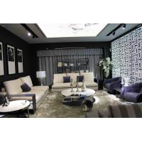 Buy cheap Upholstered Modern Lobby Sofas , White Leather Swivel Chairs For Living Room from wholesalers