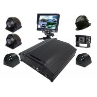 Buy cheap 8 Channel 4G AHD 720P HDD Vehicle Mobile DVR Security Surveillance System Black Box Kit from wholesalers