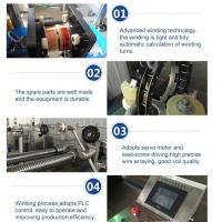Buy cheap best selling automatic voltage transformer winding machine for current from wholesalers