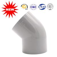 Buy cheap Hot Pressed Water Supply Fitting Series Plastic Pipe Fittings 45 Degree Elbow from wholesalers
