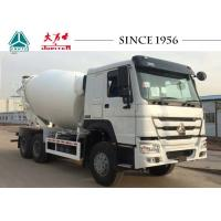 Buy cheap HOWO Truck Mounted Concrete Mixers , Ready Mix Cement Trucks 8 CBM Capacity product