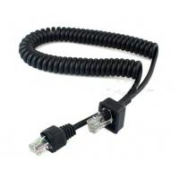 Buy cheap Coiled 8P8C extension cable For Motorola ICOM product