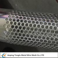 Buy cheap Stainless Steel Perforated Tube|T304 Perforated Pipe with Punching Round Hole Pitch 7mm from wholesalers