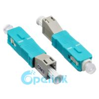 Buy cheap LC-SC Female To Male Fiber Optic Adapter PC Mating Type For Optical Fiber LAN from wholesalers
