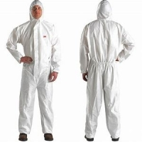 Buy cheap Unisex PP Non Woven Anti Shrink Disposable Coverall Suit product