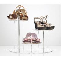 Buy cheap Customizable Clear Acrylic / Plexiglass Shoes Display Rack Manufacture in China from wholesalers