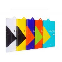 Buy cheap Tempered Glass Product Packaging Boxes / Fold Paper Box In Book Shape from wholesalers