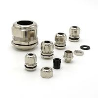 Buy cheap Water Proof Brass Cable Gland Strengthened IP68 Industrial Cable Glands Fire Resistance from wholesalers