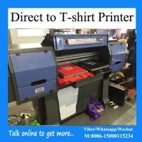 Buy cheap 4 Plates Direct To Garment Printing Machine For Cotton Workout Apparel from wholesalers