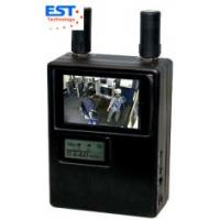 Buy cheap 900-2700MHz Handheld Wireless Pinhole Camera Scanner , Real-Time Monitoring from wholesalers