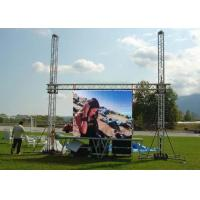 Buy cheap P10 1R1G1B IP65 VGA Iron Full Color Electronic Outdoor Led Video Wall Rental from wholesalers