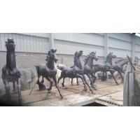 Buy cheap Large Modern cast Bronze Horse Sculptures from wholesalers