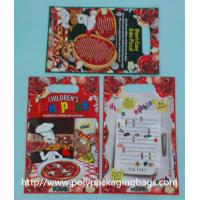 Buy cheap Red Plastic Toy Packaging Poly Bags / Custom Printed 3 Side Seal Bag from wholesalers