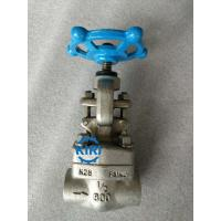 Buy cheap Class 800lb Forged Steel Globe Valve F316L Premium Materials Long Service Life from wholesalers