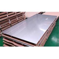 Buy cheap ASTM 304 Stainless Steel Sheet Metal , Hot Rolled Plate Steel Brushed Finish from wholesalers