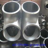 Buy cheap Stainless Steel Pipe Tee A403 Wp304L Straight Tee Asme B16.9 Size 1/2 - 60 inch from wholesalers