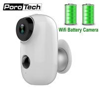 Buy cheap 2019 Newest Rechargeable Battery Camera A3 720P Waterproof Outdoor Indoor Wifi IP Camera 2 Way Audio Baby Monitor Camera from wholesalers