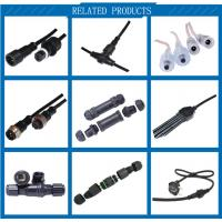 Best Quality China factory M16 2 Pin3 Pin 22awg Ip65 Waterproof 3 Wire male to