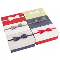 Buy cheap Cosmetic / Perfume Corrugated Paper Box Handmade With Bow Decoration from wholesalers