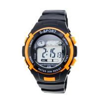 Buy cheap Large Face Analogue Childrens Digital Watches Mens Sport Watches Black from wholesalers