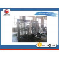 Buy cheap Hot  Pack Juice Filling Machine 4.9kw , Small Scale Juice Bottling Equipment from wholesalers
