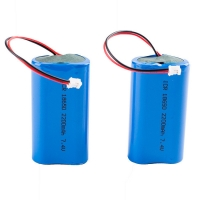 Buy cheap Rechargeable Panasonic 7.4V 2200mAh 18650 Lithium Battery product