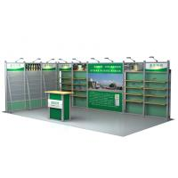 Buy cheap Exhibition Aluminum Booth Design , 3 × 6m Tradeshow Booth Displays from wholesalers
